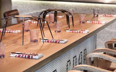 Банкетный зал ресторана Crabber на Пресненской набережной фото 2