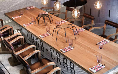 Банкетный зал ресторана Краббер (Crabber) на Пресненской набережной фото 3