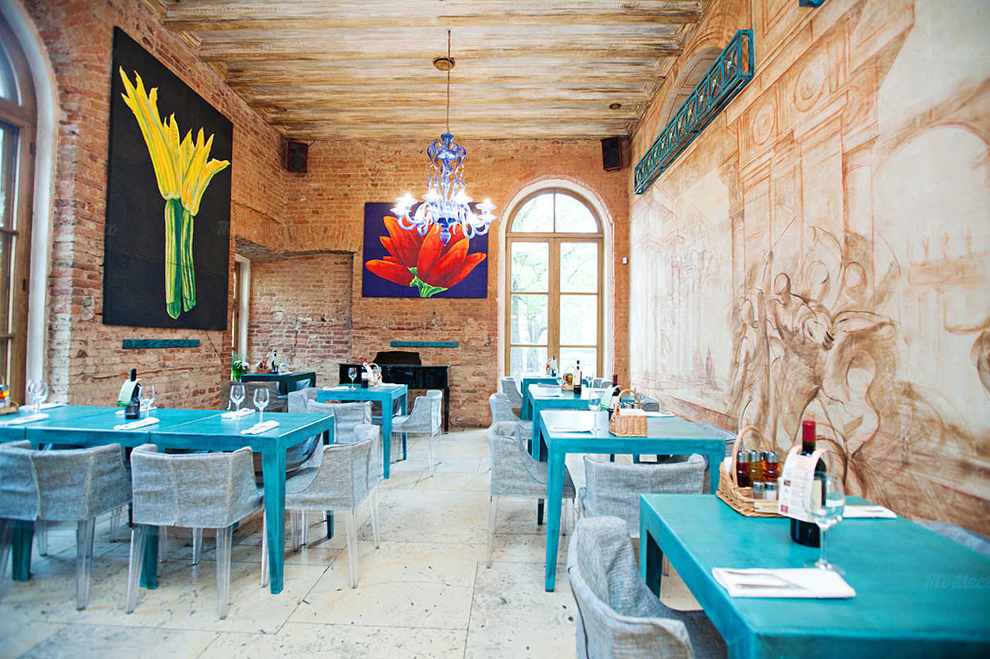 Ресторан Мама Рома (Mama Roma) на набережной реки Фонтанки фото 4