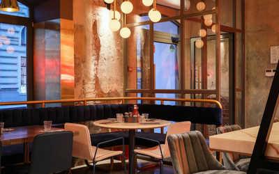 Банкетный зал ресторана Burger & Pizzetta на Большой Никитской фото 2