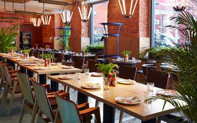 Банкетный зал ресторана Crabber в Берсеневском переулке фото 2