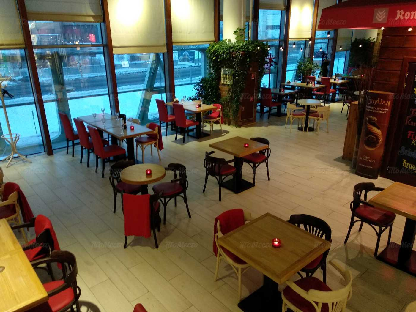 Кафе Rombouts (Ромбаутс) на Ходынском бульваре