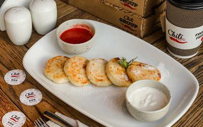 Меню ресторана Чили Кафе (Chili Cafe) на набережной канала Грибоедова фото 3