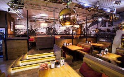 Банкетный зал стейк-хауса Нью-Йорк пицца и гриль на Серебрянической набережной фото 2