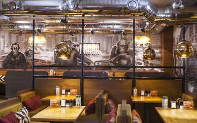 Банкетный зал стейк-хауса Нью-Йорк пицца и гриль на Серебрянической набережной фото 3