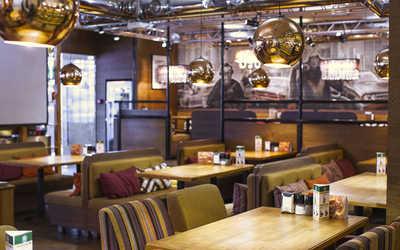 Банкетный зал стейк-хауса Нью-Йорк пицца и гриль на Серебрянической набережной фото 1
