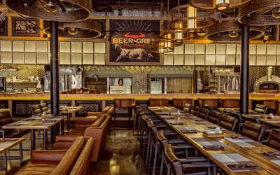 Банкетный зал ресторана Factoria Beer & Grill на Вятской улице фото 2