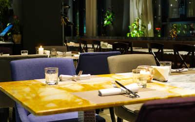 Банкетный зал ресторана Траттория Модерна (Trattoria Moderna) на Новоданиловской набережной фото 2
