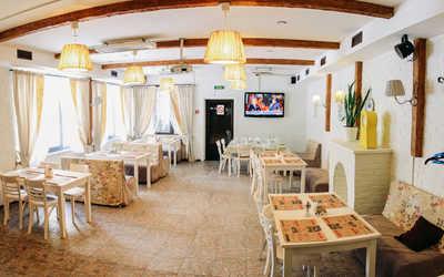 Банкетный зал ресторана Дача на Плоткина фото 1
