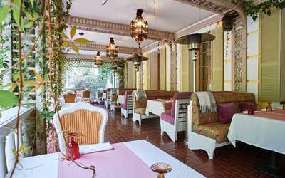 Банкетный зал ресторана Chalet Royal Club в поселке Архангельское фото 2