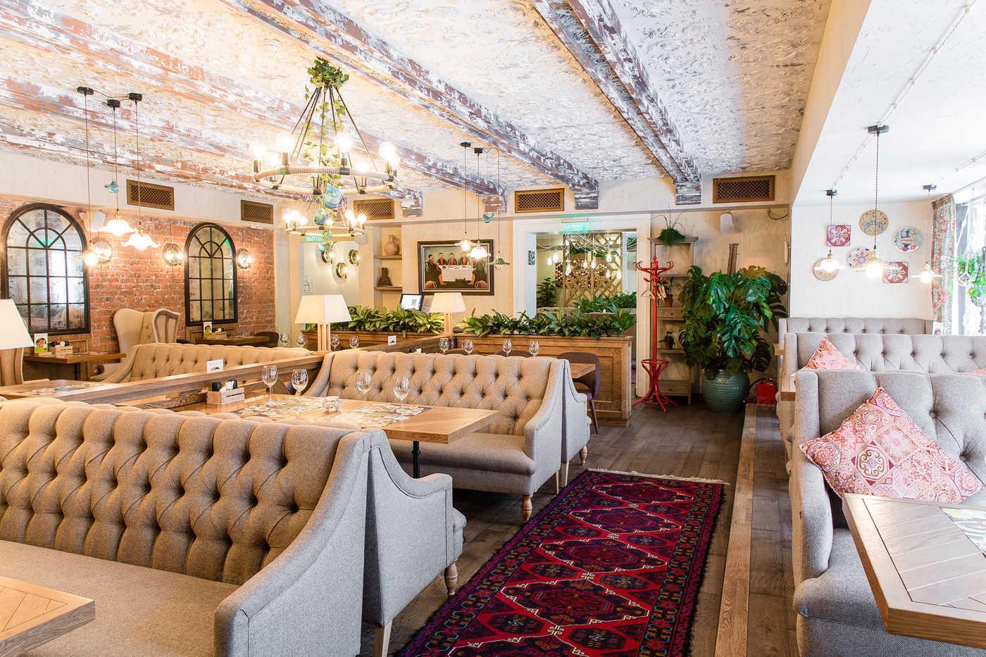 Ресторан Грузинские каникулы на Кузнецком мосту