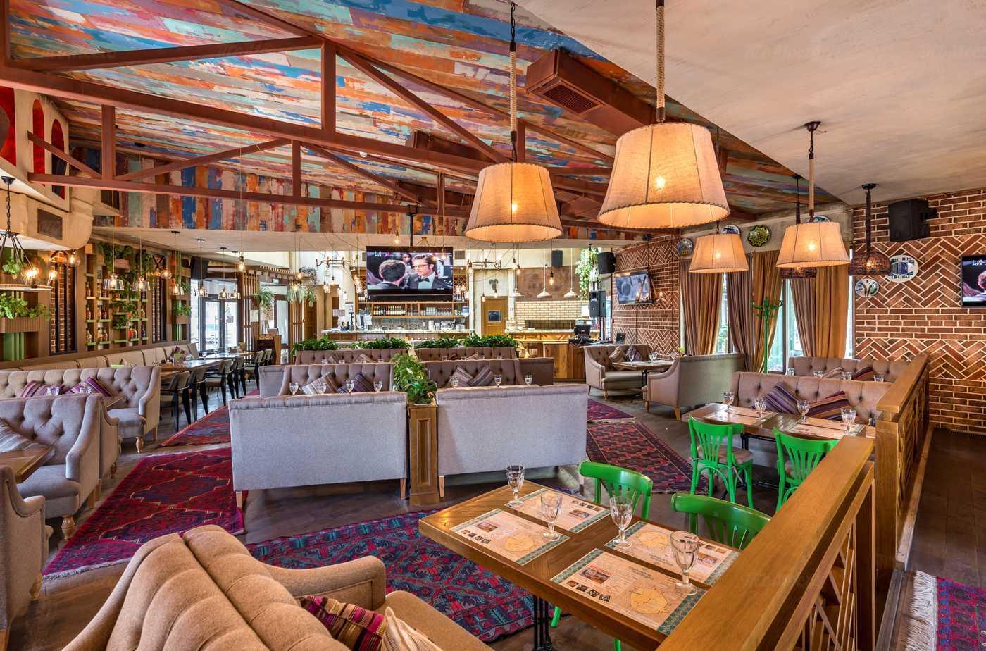 Ресторан Грузинские каникулы на Павшинском бульваре фото 7