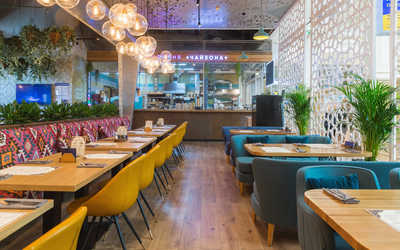 Банкетный зал ресторана Чайхона Жаровня на Театральном проезде фото 1