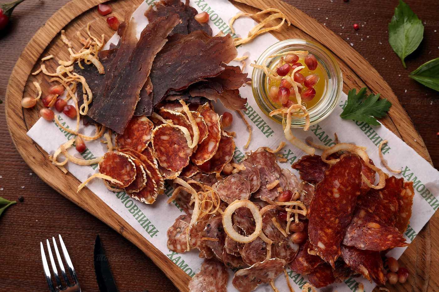 Меню ресторана Хамовники на улице Военной фото 66