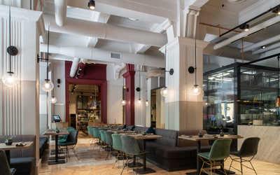 Банкетный зал ресторана Choice (Healthy Social Club) на Малой Никитской фото 2