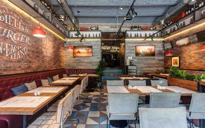 Банкетный зал ресторана Ketch Up (Кетч Ап) на Литейном проспекте фото 1