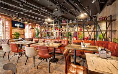 Банкетный зал ресторана Ketch Up Burgers на улице Льва Толстого фото 1