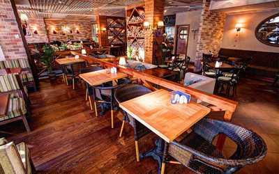 Банкетный зал ресторана Trattoria Chili Pizza на Типанова фото 1