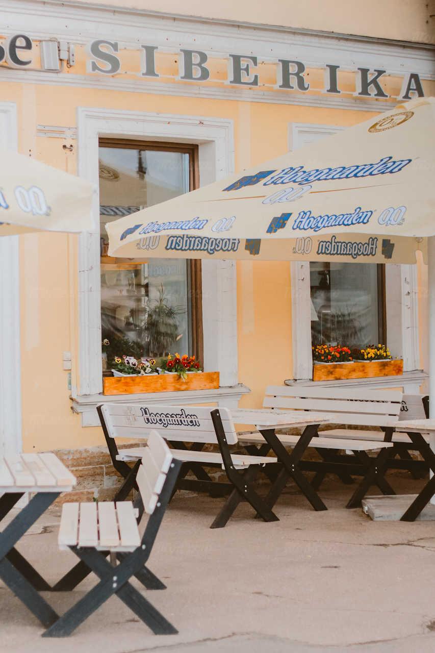 Кафе Сиберика (Siberika) на набережной Лейтенанта Шмидта фото 6