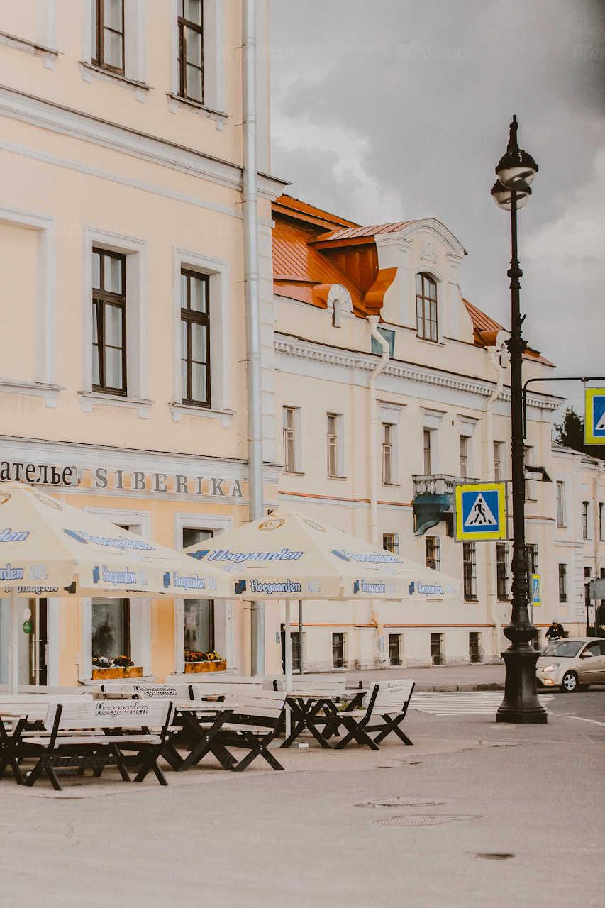 Кафе Сиберика (Siberika) на набережной Лейтенанта Шмидта фото 5