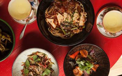 Меню кафе Китайская квартира Брюса Ли на улице Рубинштейна фото 1
