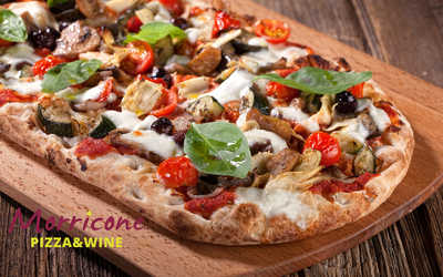 Меню ресторана Morricone pizza & wine на улице Ленина фото 1