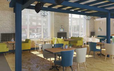 Банкетный зал ресторана Morricone pizza & wine на улице Ленина фото 3