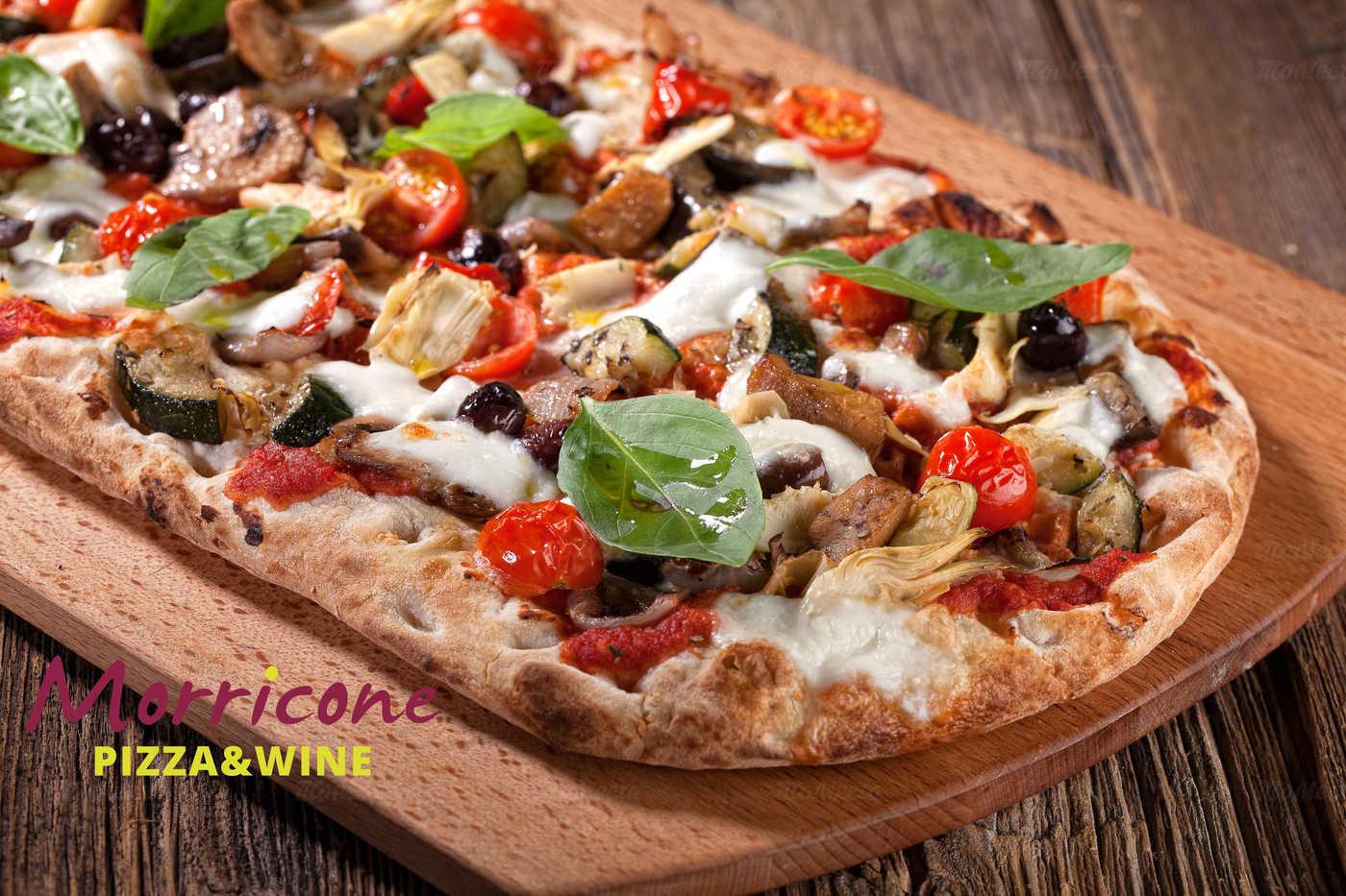 Меню ресторана Morricone pizza & wine (Морриконе пицца и вино) на улице Ленина фото 50