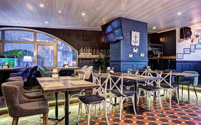 Банкетный зал гастропаба Краб Паб (Crab Pub) на Космодамианской набережной фото 1