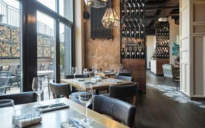 Банкетный зал ресторана G&G (Grill & Garden) на улице Народного Ополчения фото 2