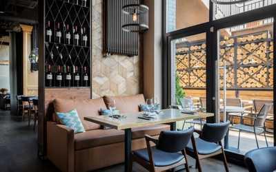 Банкетный зал ресторана G&G (Grill & Garden) на улице Народного Ополчения фото 1