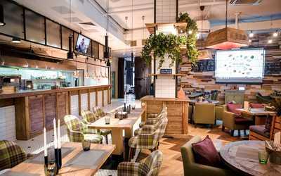 Банкетный зал кафе Bon App (Бон Ап) на Никольской улице фото 1