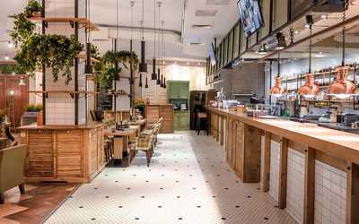 Банкетный зал кафе Bon App (Бон Ап) на Никольской улице фото 2