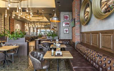 Банкетный зал ресторана Гудман Стейк Хаус (Goodman) на Кировоградской улице фото 3