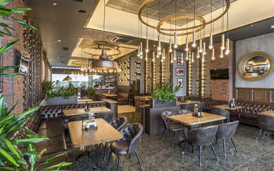 Банкетный зал ресторана Гудман Стейк Хаус (Goodman) на Кировоградской улице фото 2