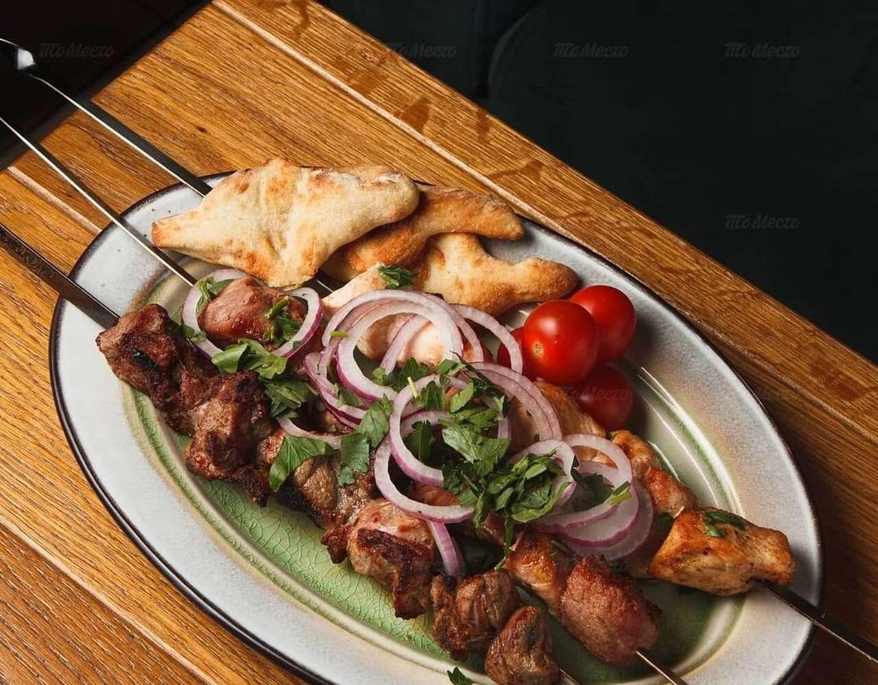 Меню ресторана Pshaveli (Пшавели) на набережной реки Карповки фото 14