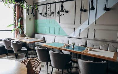 Банкетный зал кафе Тимьян на улице Пушкина фото 1