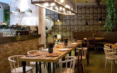Банкетный зал ресторана Экстра Вирджин (Extra Virgin) на Покровке фото 2