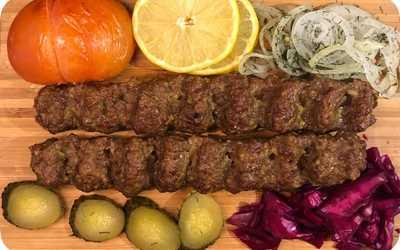 Меню ресторана Персия на улице Пушкина фото 1