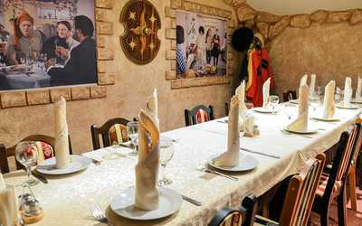 Банкетный зал кафе БамБарБия на улице Чайковского фото 2