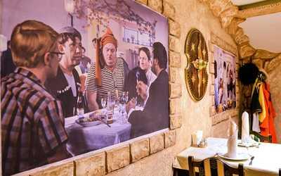 Банкетный зал кафе БамБарБия на улице Чайковского фото 3