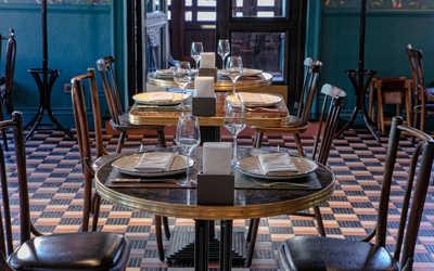 Банкетный зал ресторана Шато Руставели на Малой Бронной фото 3