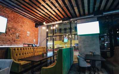 Банкетный зал паба Ламбик бар (Lambicbar) на Загородном проспекте фото 2