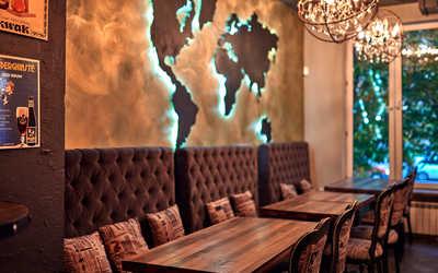 Банкетный зал паба 885 (Pub 885) на Большом Андроньевском фото 2
