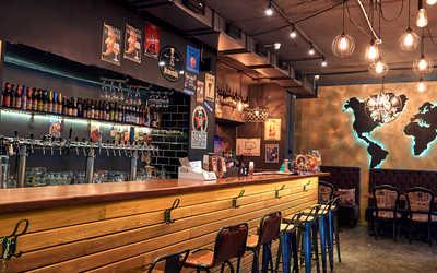 Банкетный зал паба 885 (Pub 885) на Большом Андроньевском фото 1