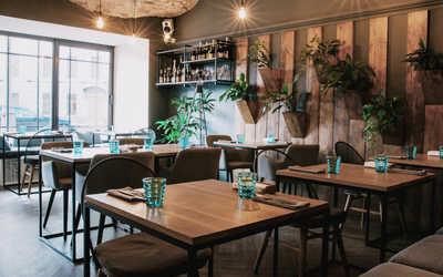 Банкетный зал пивного ресторана Brasserie Lambic (Брассерия Ламбик) на Верхней Радищевской фото 2