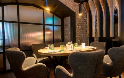 Банкетный зал пивного ресторана Brasserie Lambic (Брассерия Ламбик) на Гоголевском бульваре фото 2