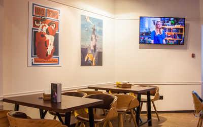 Банкетный зал кафе Биг Бэнг (Big Bang) на Земляном валу фото 3