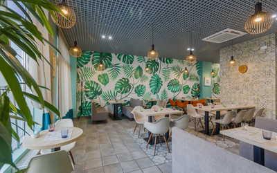 Банкетный зал кафе Green Heart на проспекте Народного Ополчения фото 3