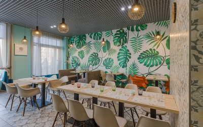 Банкетный зал кафе Green Heart на проспекте Народного Ополчения фото 1